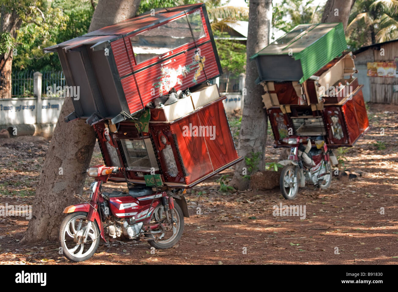https www alamy com stock photo moving everything by scooter except the kitchen sink kampong cham 22770580 html