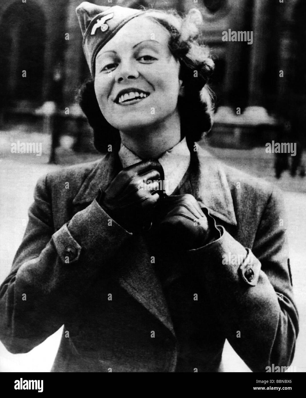 Events Second World War Wwii Germany Women In War