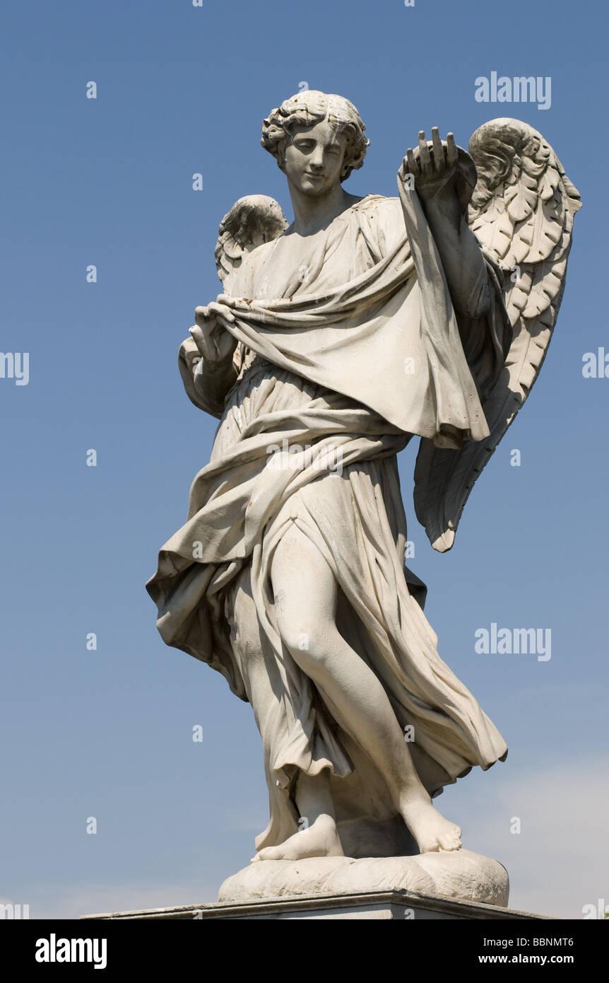 Angel Sculptures Rome