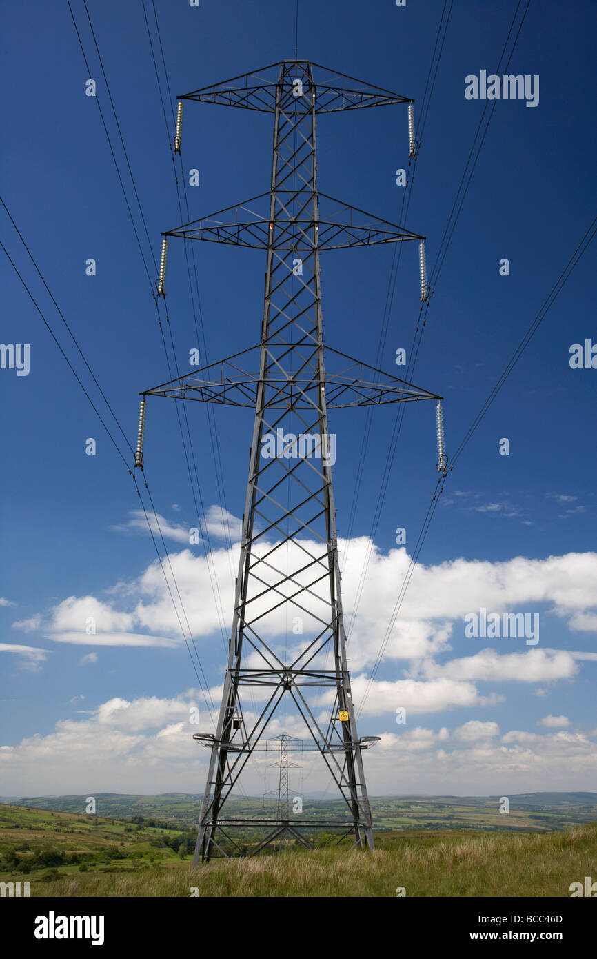 High Voltage Electricity Pylon County Londonderry Derry Northern