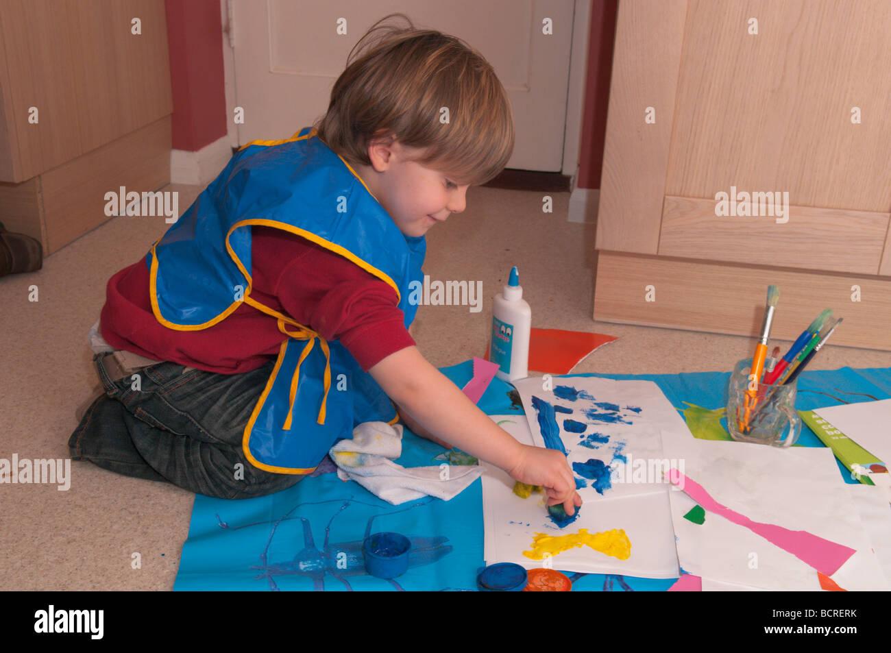 Three Year Old Boy Drawing Stock Photos Amp Three Year Old