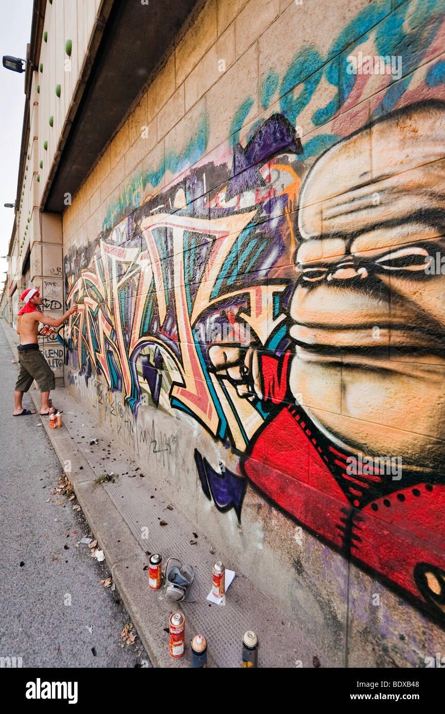 One Year Festival Internationale Graffiti Kunstler Machen Wien