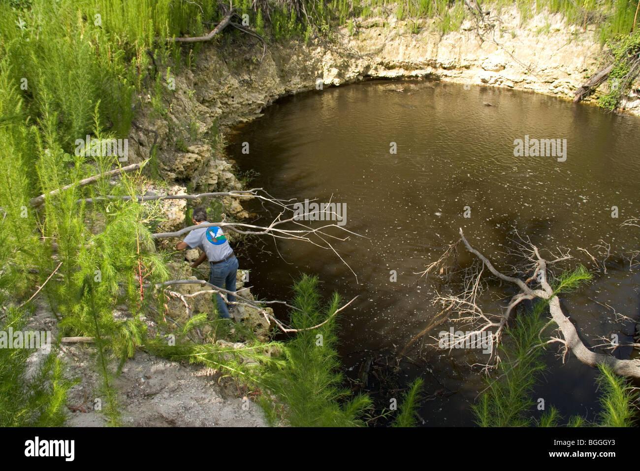 Sinkhole Florida Stock Photos Amp Sinkhole Florida Stock