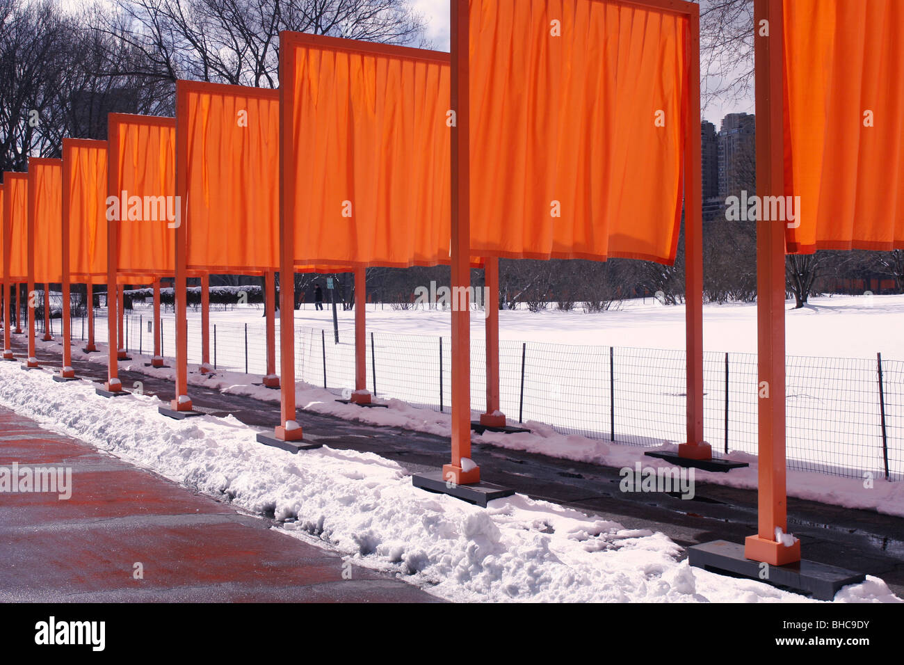 The Gates By Christo And Jeanne Claude Stock Photo Alamy