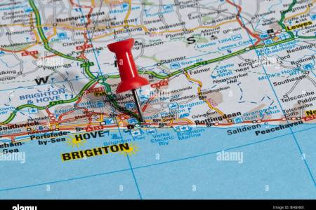 brighton map england » Full HD MAPS Locations - Another World ...
