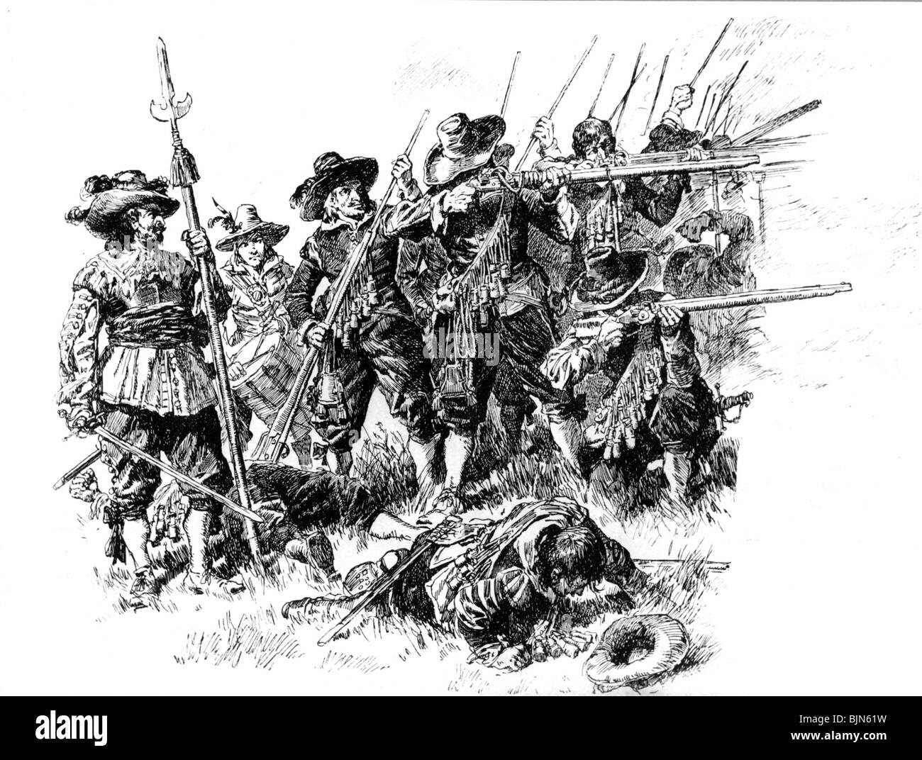 Military Musketeers Thirty Years War