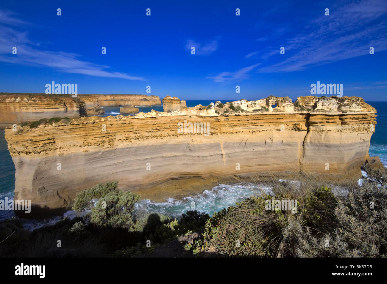 The Razorback  Twelve Apostles  Port Campbell National Park Stock     The Razorback  Twelve Apostles  Port Campbell National Park  Australia
