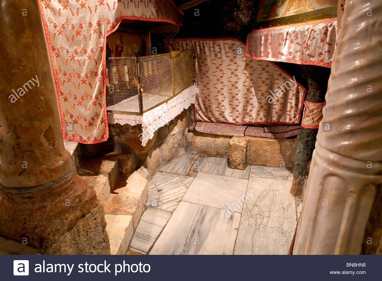 Bethlehem The Altar Of The Adoration Of The Magi Inside