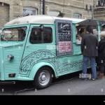 Mexican Street Food Catering Van London England Uk Stock Photo Alamy