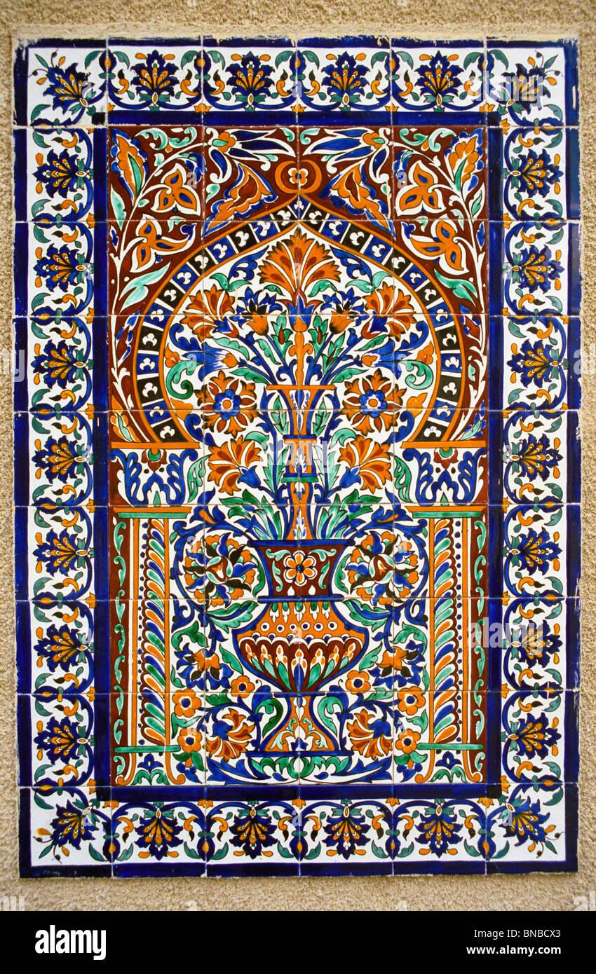 https www alamy com stock photo tunisia nabeul ceramic tile design 30369755 html