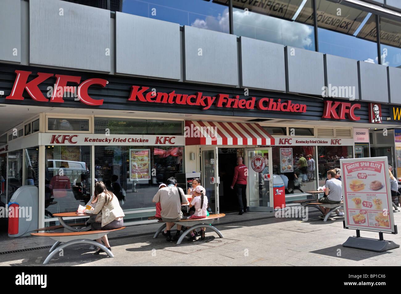 Kentucky Fried Chicken Restaurant