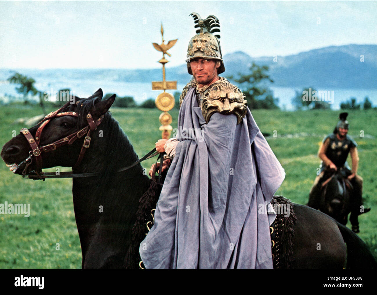 Charlton Heston Julius Caesar Stock Photo