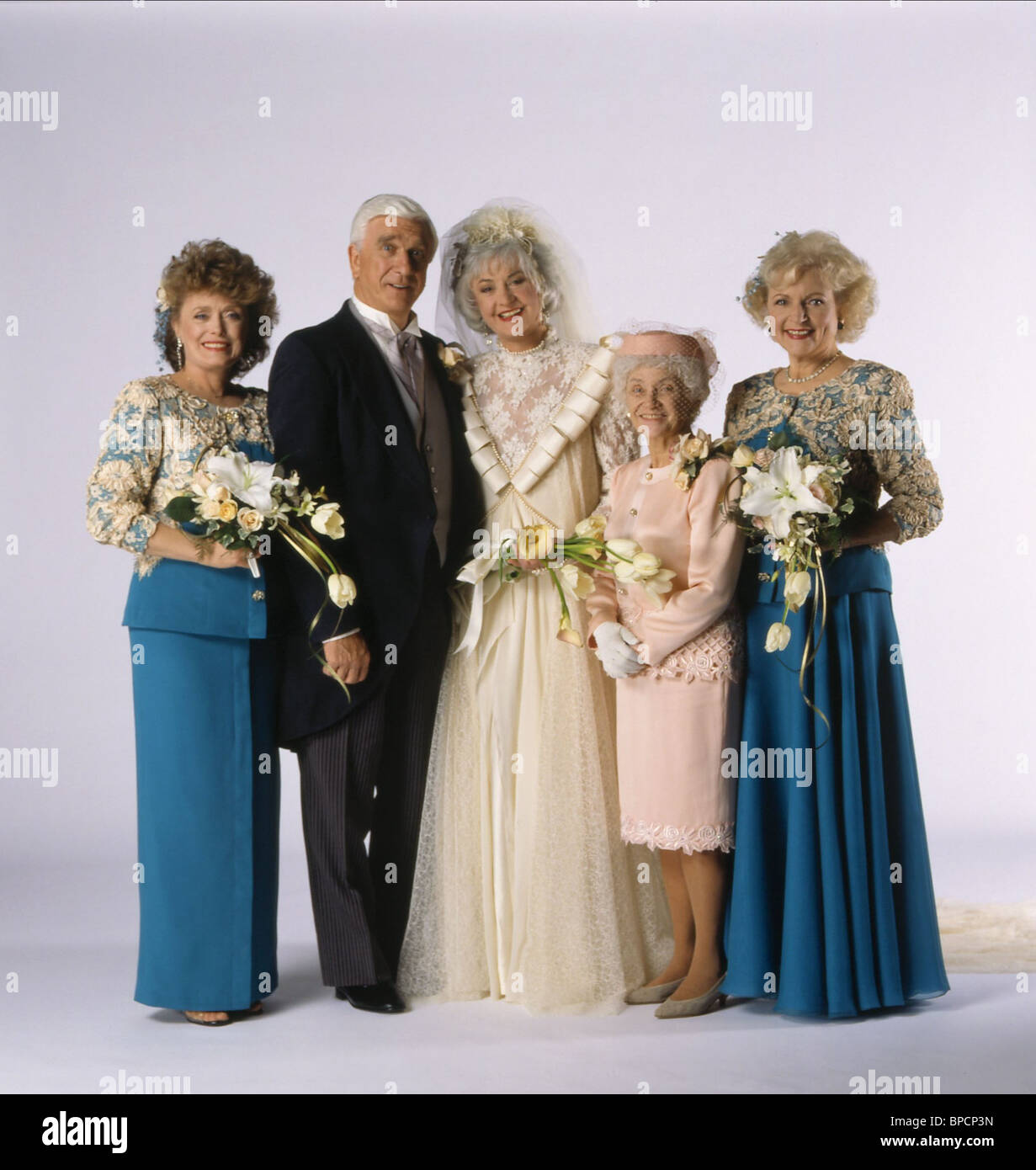 Image result for golden girls leslie nielsen