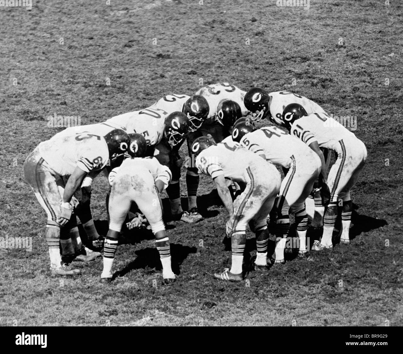 Old Time Football Uniforms