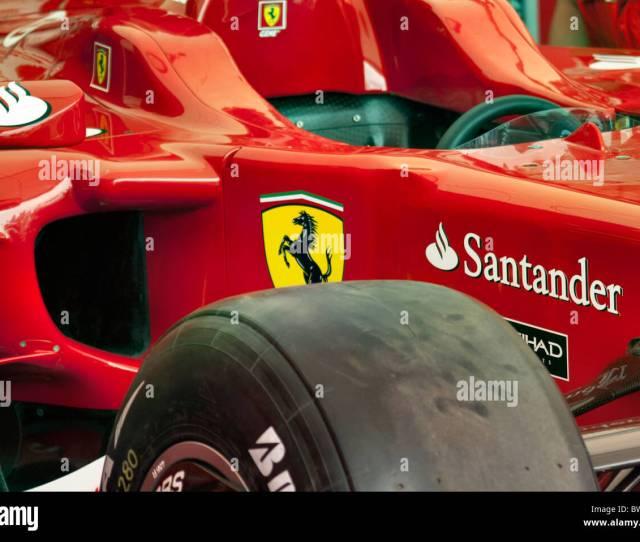 Ferrari F Car Stock Image