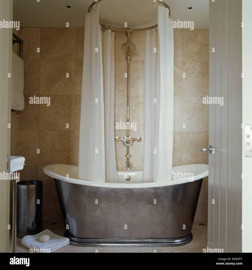 roll top bath shower curtain rail | Matasanos.org