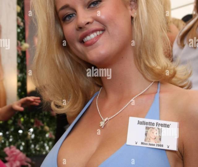 Juliette Frette Playboy Magazines Miss June  Los Angeles California