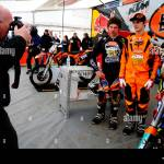 A Motocross Photographer Taking Commercial Images Of The Ktm Uk Stock Photo Alamy