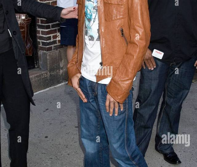Sanjaya Malakar Recently Voted Off American Idol Season 6 At The Ed Sullivan Theatre For An Appearance On The Late Show