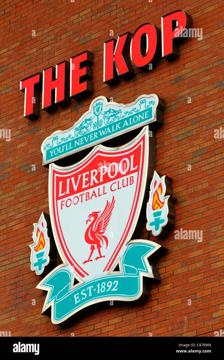 Liverpool Fc Logo High Resolution Stock Photography and ...