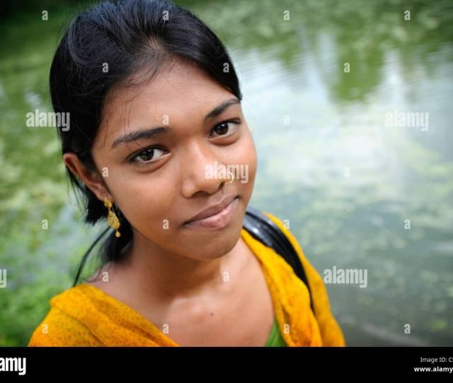 A Bengali Girl Stock Image