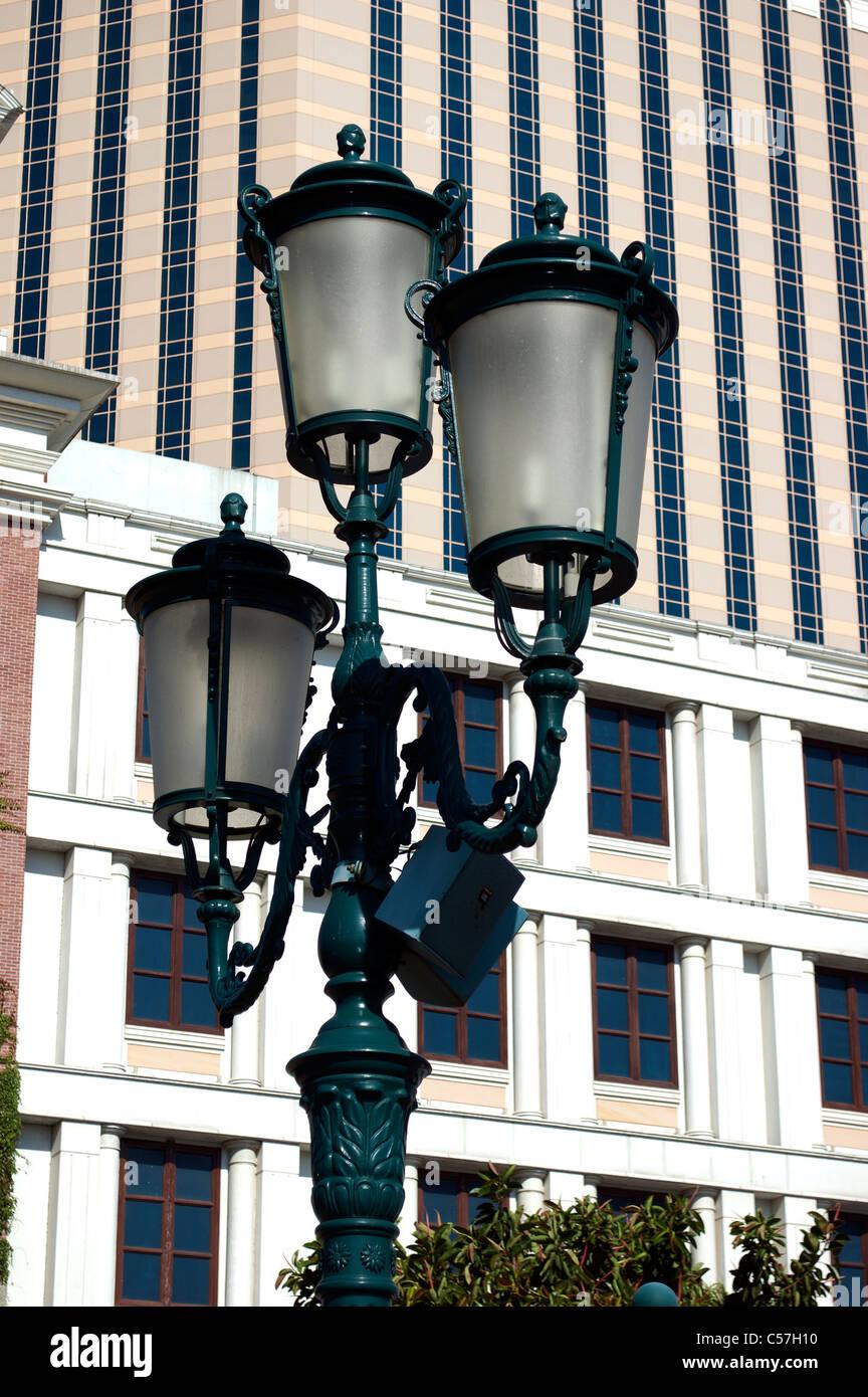 https www alamy com stock photo old world ornate street lighting at the venetian macao casino hotel 37661036 html