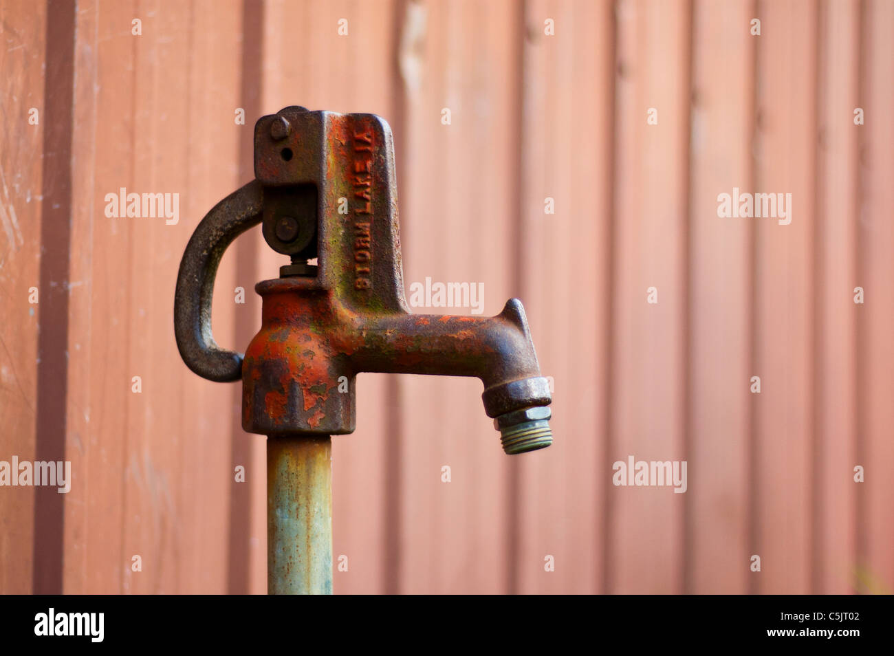 https www alamy com stock photo vintage water spigot found on a farm in indiana 37907970 html