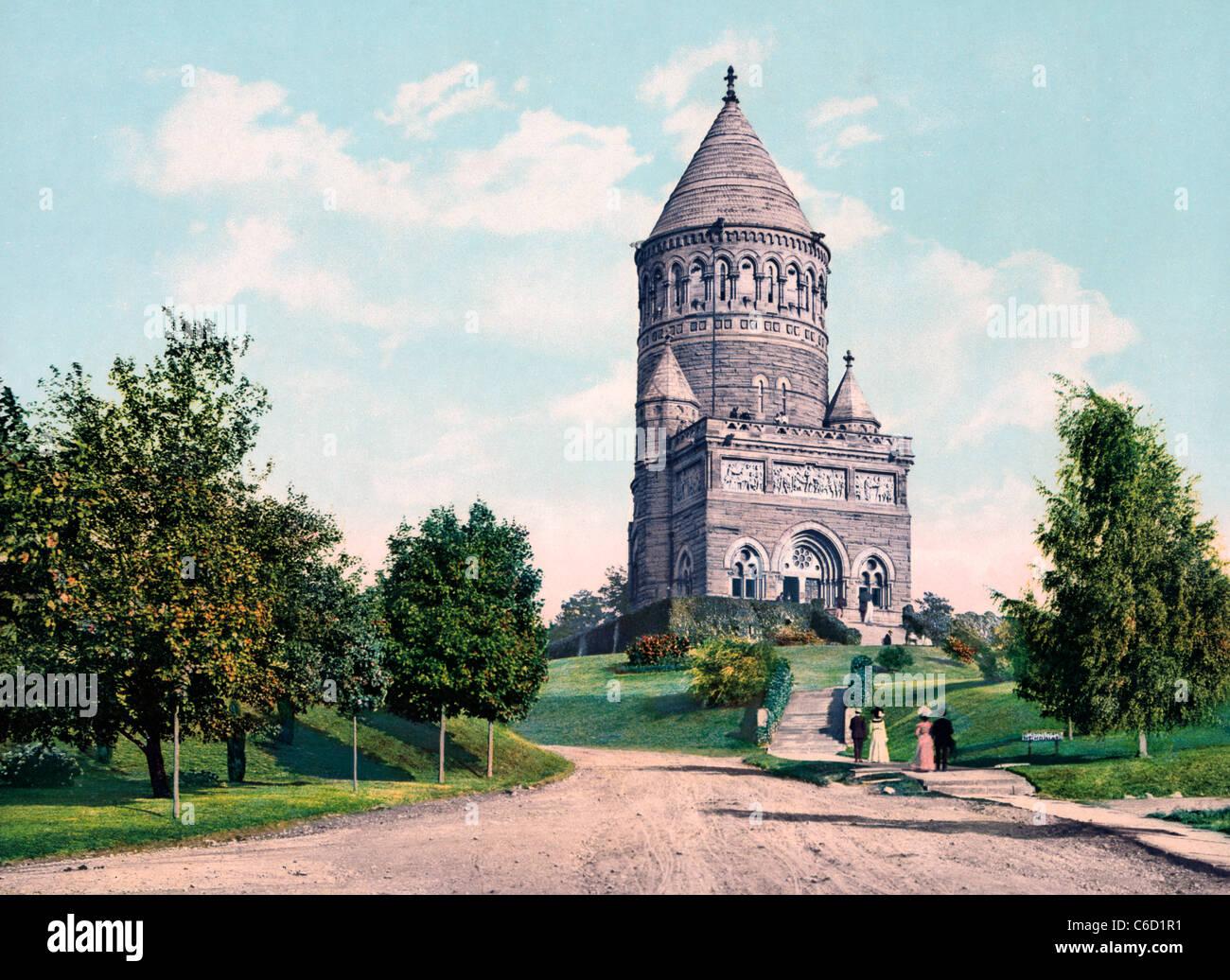 The Garfield Memorial Cleveland Ohio Circa