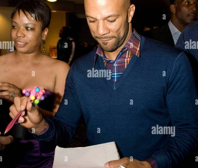Common The Chicago Premier Of Just Wright Held At Amc River East 21 Theater Chicago Illinois