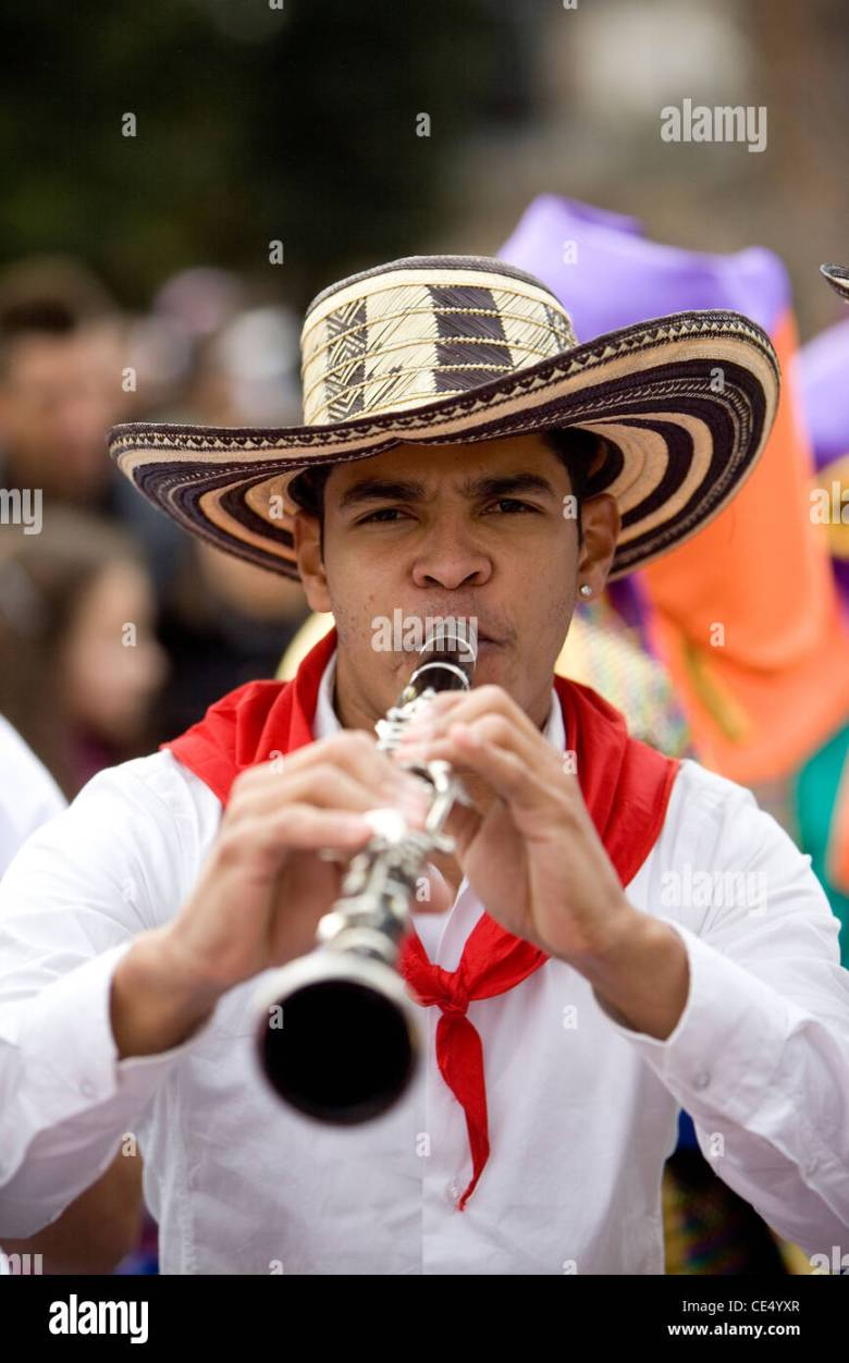 latin american carnival in rome music color fun playing musical