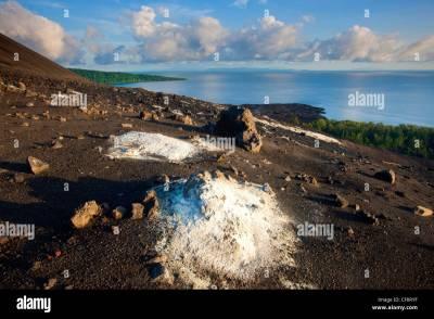 Anak, Krakatau, Indonesia, Asia, Java, island, isle ...