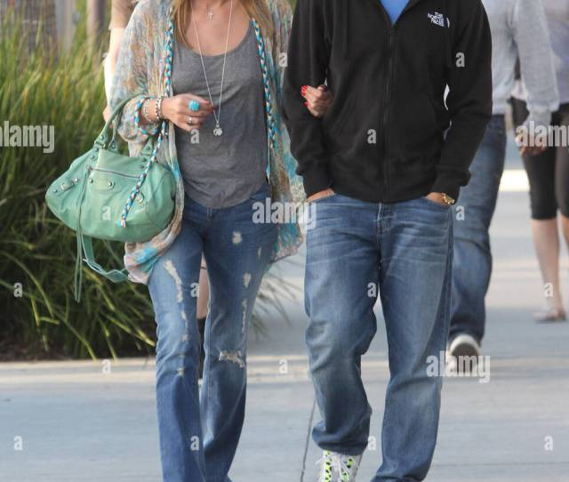 Nicky Hilton And Boyfriend David Katzenberg Take A Walk Together In Sunny Beverly Hills Los Angeles California