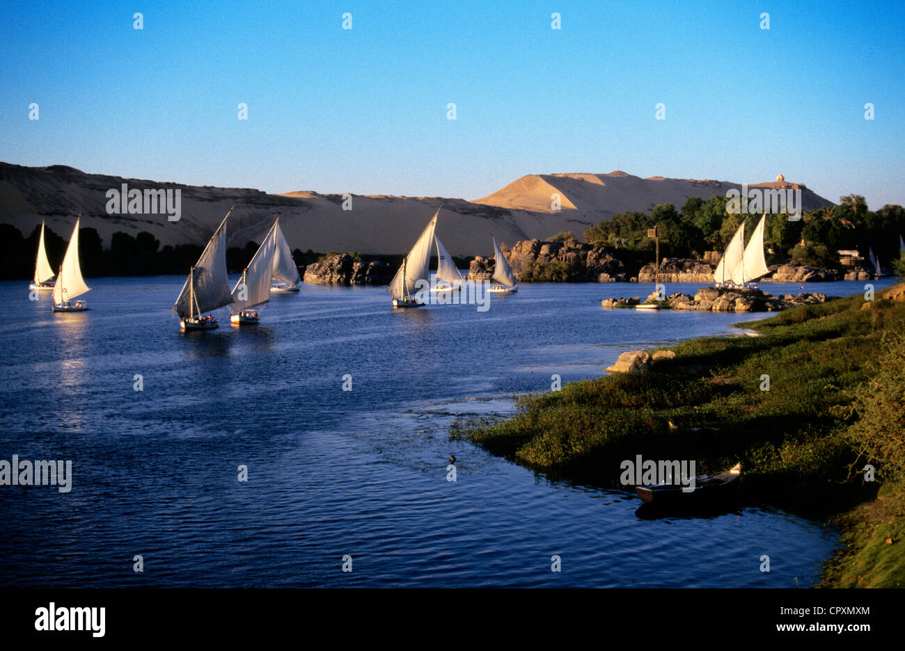Feluccas Nile Stock Photos Amp Feluccas Nile Stock Images