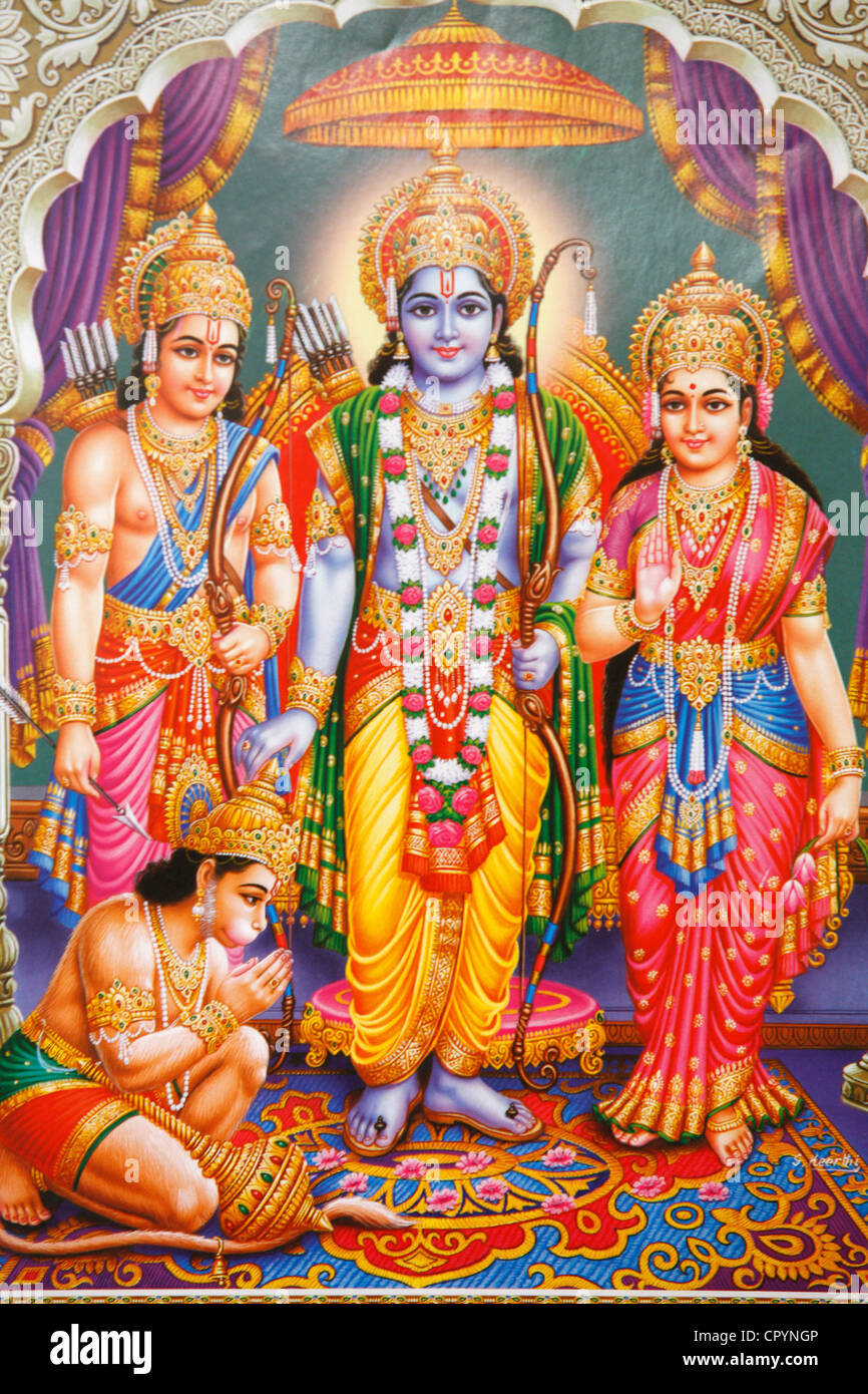 Hindu Gods High Resolution Stock Photography And Images Alamy