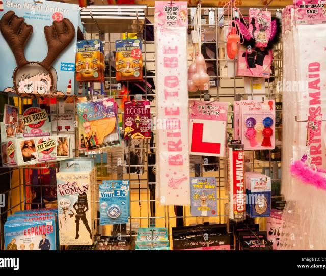 Sex Toys On Sale Inside Nice N Naughty Sex Shop Aberystwyth Wales Uk