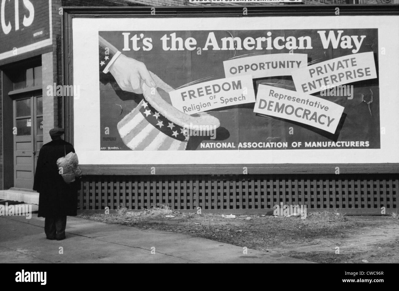 Anti New Deal Billboard