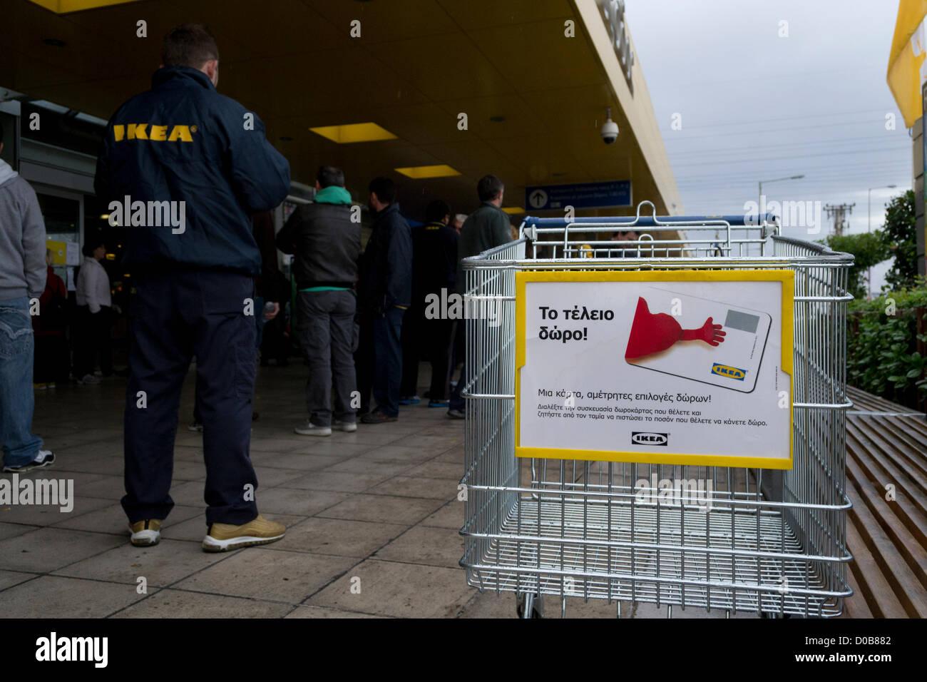 Ikea Workers Strike Stock Photos Ikea Workers Strike Stock