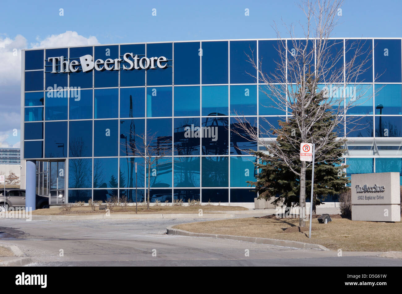 The Beer Store Corporate Office In Mississauga, Ontario