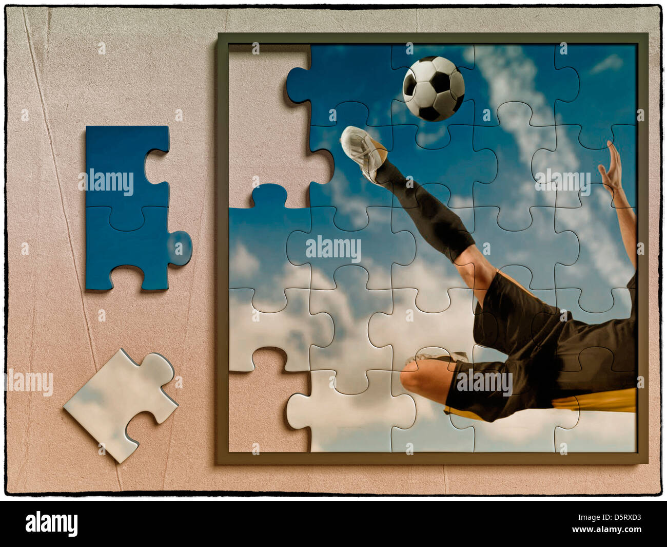 Football Puzzle Stock Photos Amp Football Puzzle Stock Images