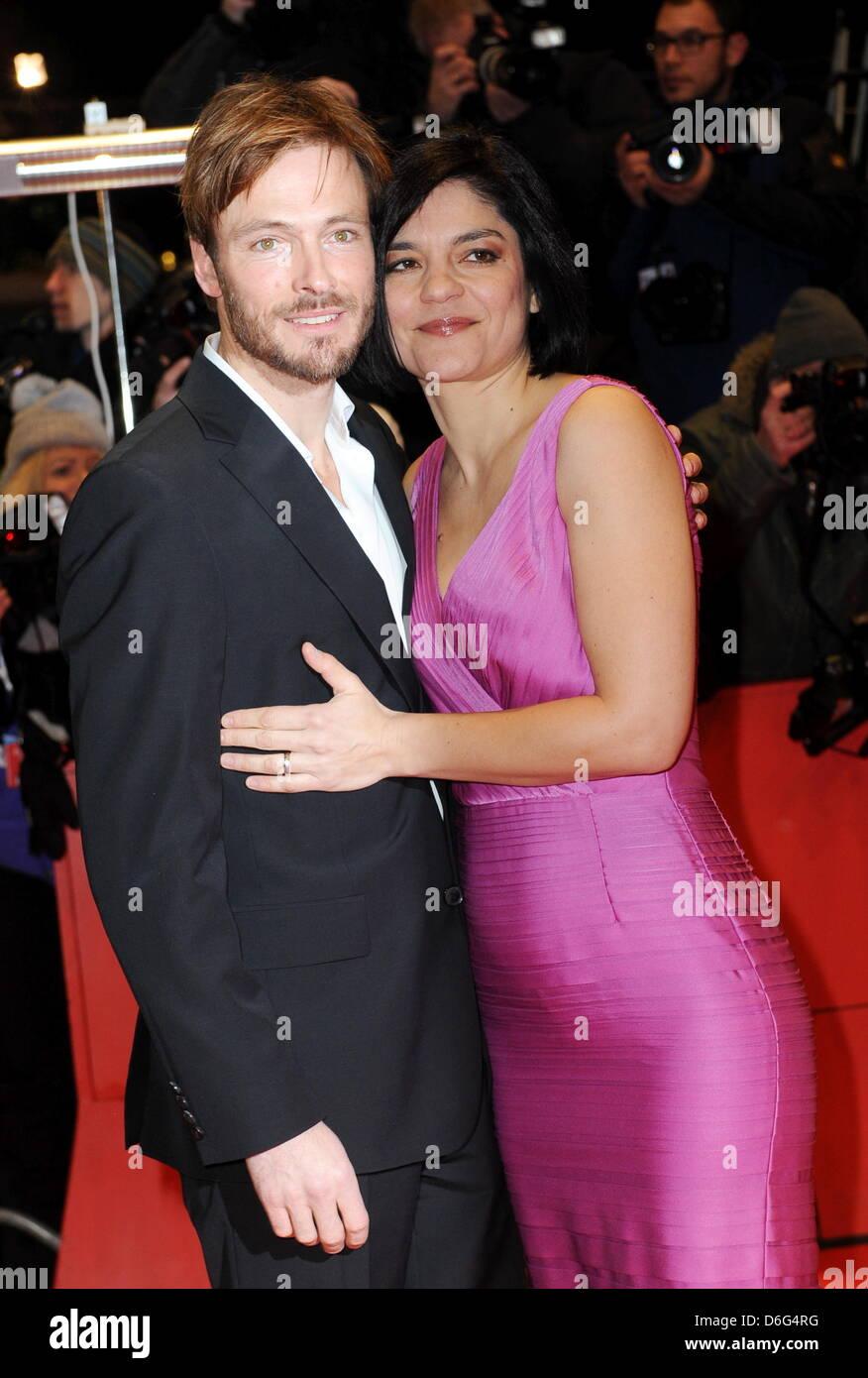 https www alamy com stock photo german actors jasmin tabatabai and her partner andreas pietschmann 55674068 html