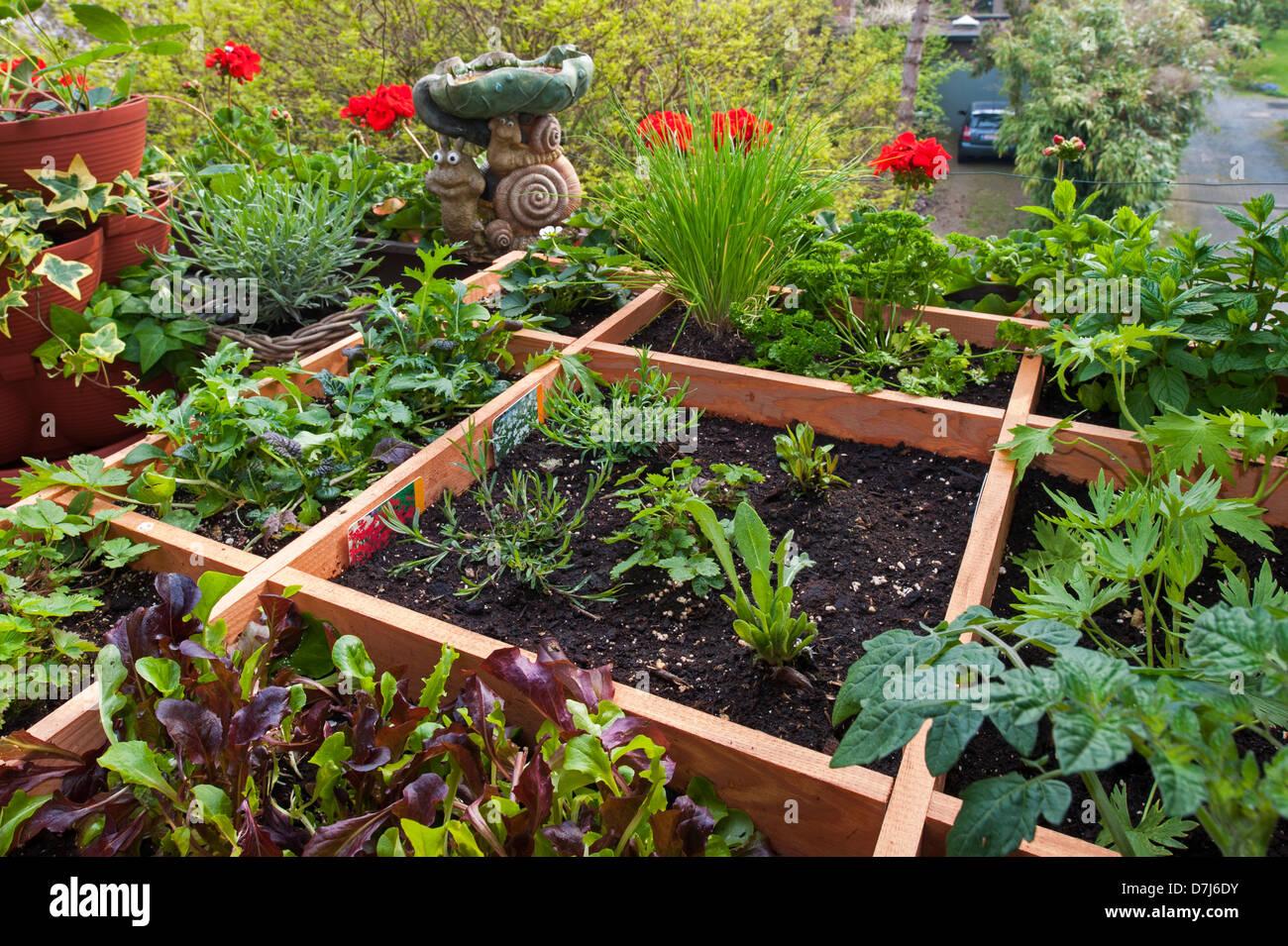 Square Foot Garden Worksheet