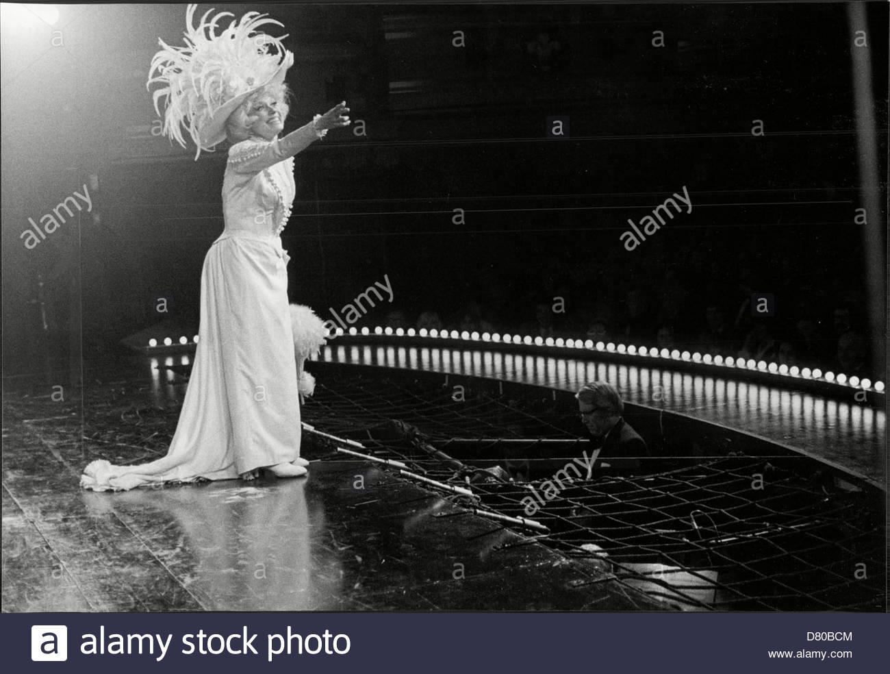 Carol Channing In Stage Musical 'hello Dolly!'. Stock Photo