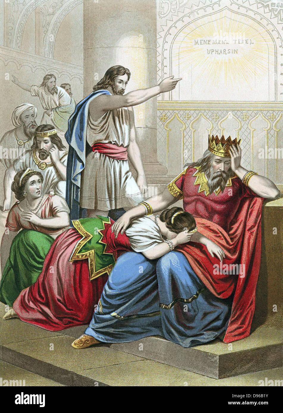 Image result for Belshazzar's Feast Daniel Interprets