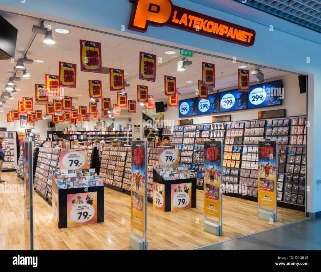 Platekompaniet A Dvd Store In Oslo Norway Europe