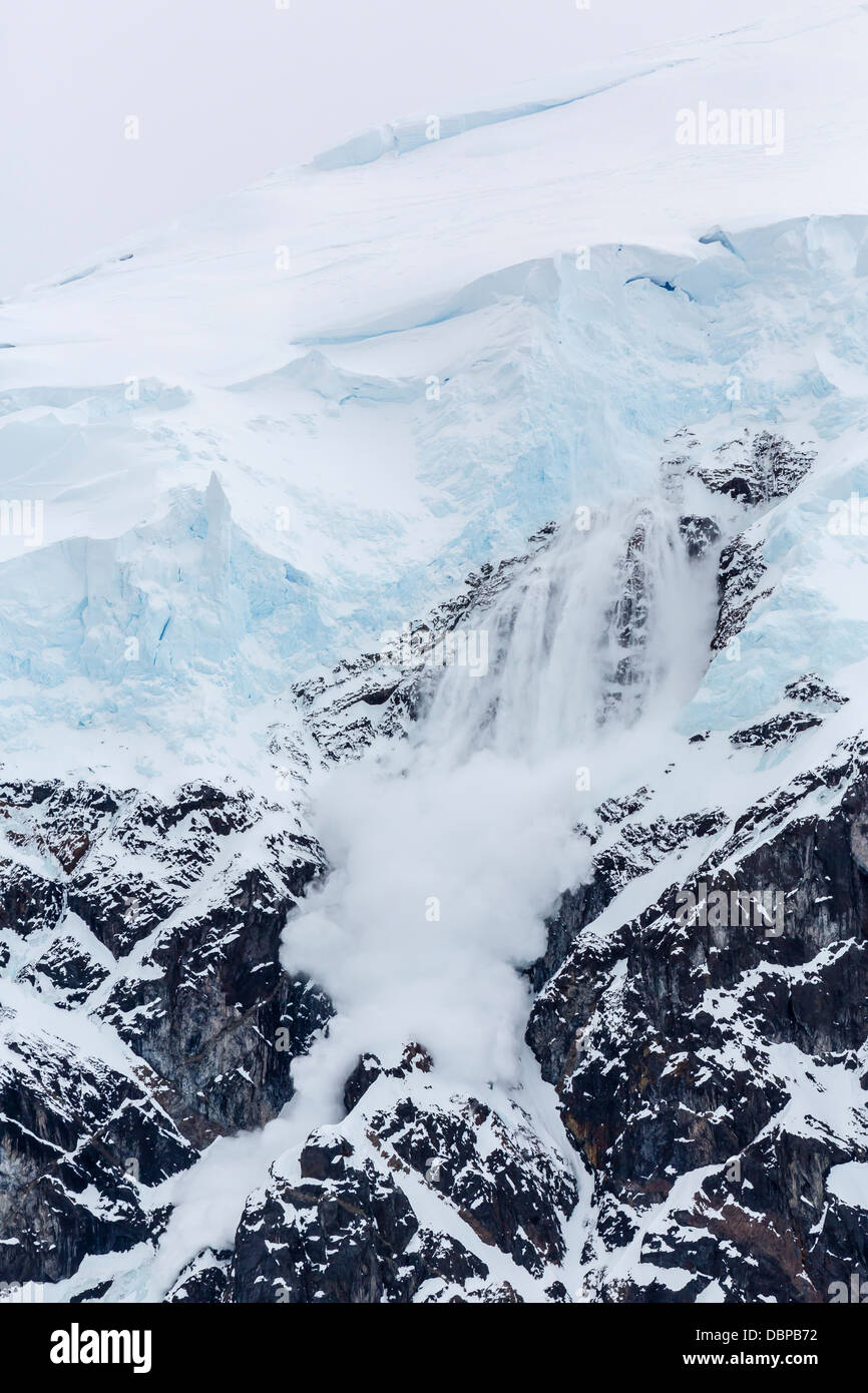 Antarctica Ice Wall Aerial