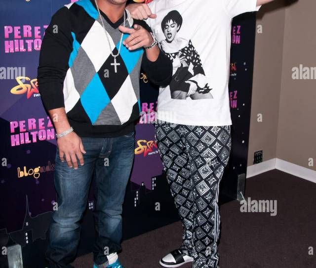 Ronnie Ortiz Magrot And Perez Hilton Opensky Presents Perez Hiltons One Night In New