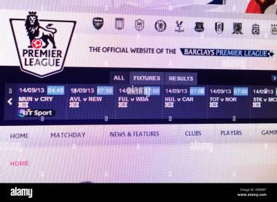 Premier League Stock Photos & Premier League Stock Images ...