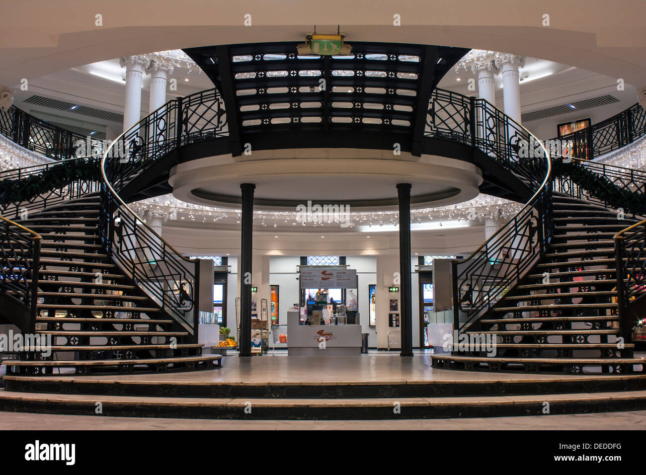 London Whiteleys Centre Stock Photo Royalty Free Image