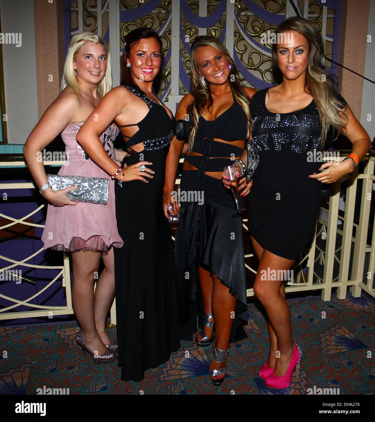 Danielle Mason from 'My Big Fat Gypsy Wedding' with her friends A Stock  Photo - Alamy