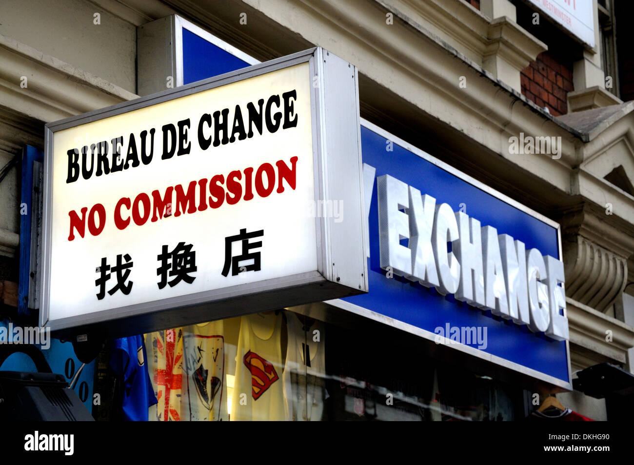 bureau de change in chinatown